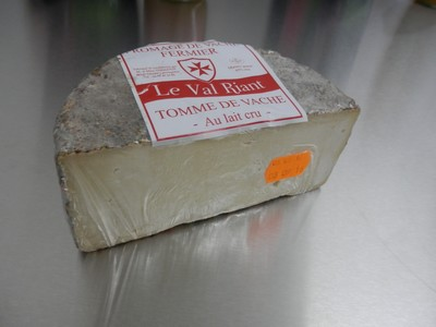 Tomme Nature -La portion de 400-450g environ